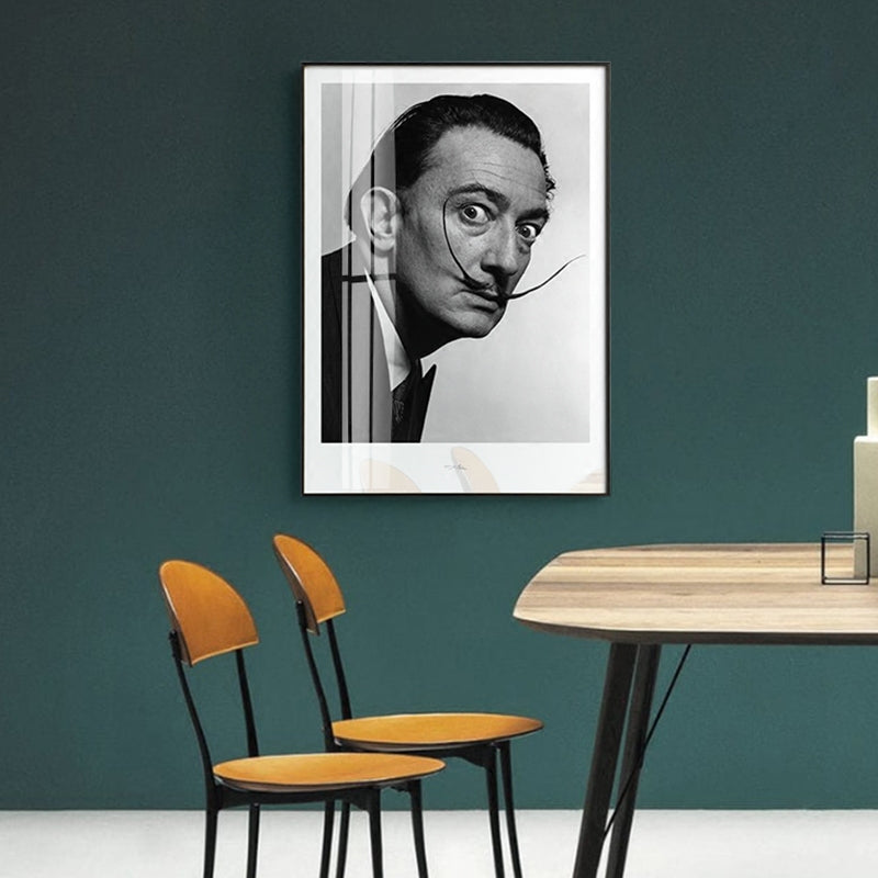Salvador Dali Portrait Wall Art Canvas - Nice & Cool