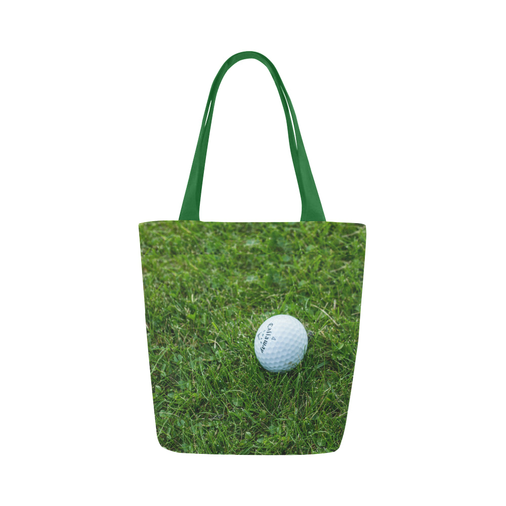 Golf Ball Canvas Tote Bag - Nice & Cool