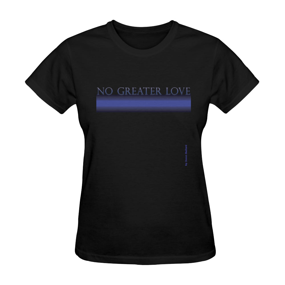 NO GREATER LOVE Classic Women's Tee - Nice & Cool