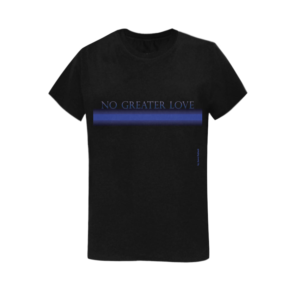 NO GREATER LOVE Classic Women's Tee (Plus Sizes) - Nice & Cool