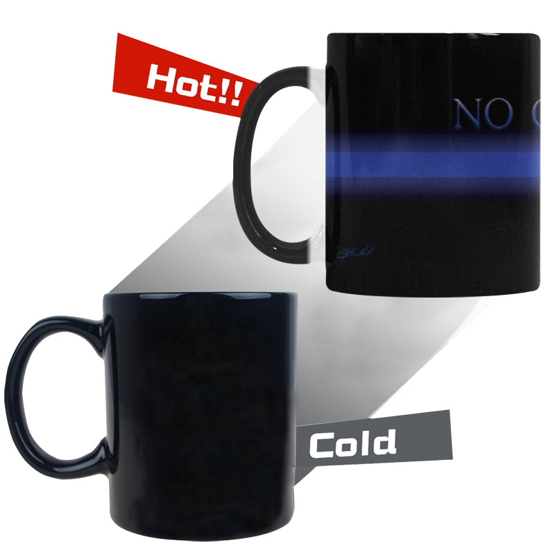 NO GREATER LOVE Morphing Mug (11 oz) - Nice & Cool