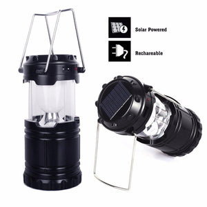 Solar Rechargeable Camping Lantern - Nice & Cool