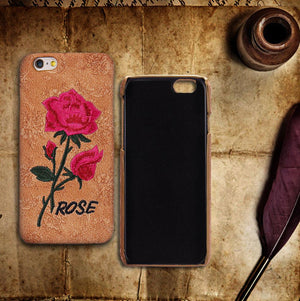 Embroidery Rose iPhone Case - Nice & Cool