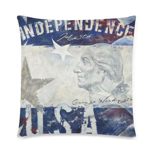 "Independence Day Pillow Cases - 18x18"" - Nice & Cool"
