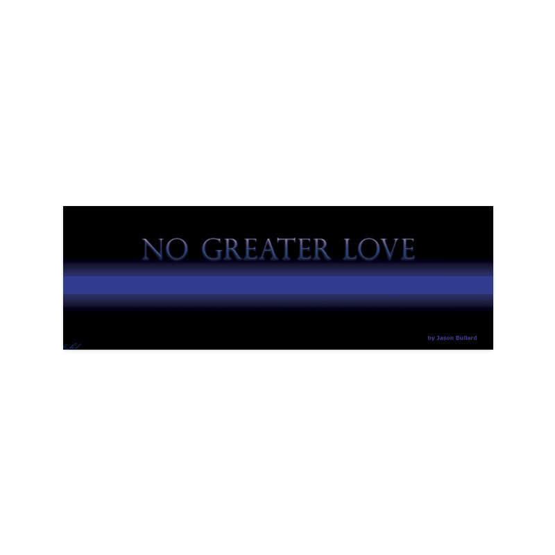 NO GREATER LOVE Poster - Nice & Cool
