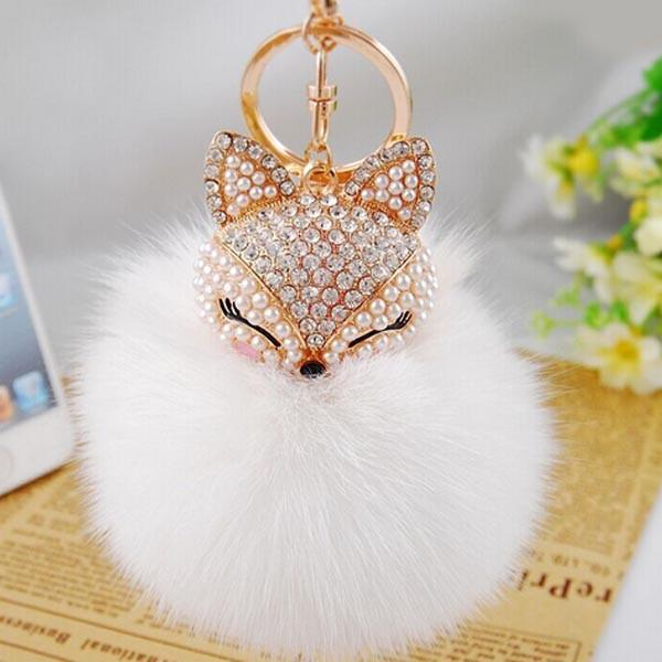 Fur Ball Keychain - Nice & Cool