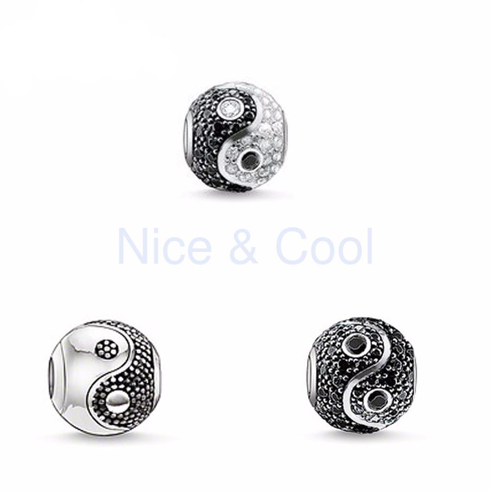 Yin Yang Beads for Charm Bracelets - Nice & Cool