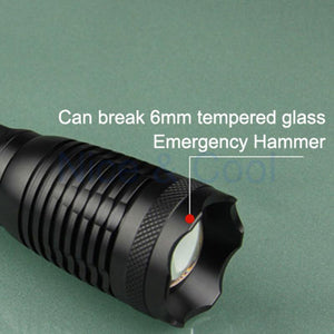 Ultra Bright Waterproof Tactical Flashlight 4500LM - Nice & Cool
