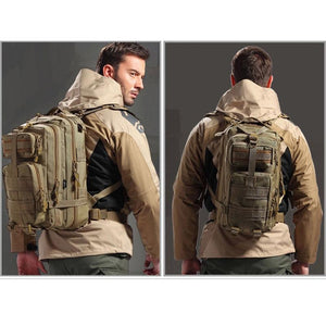 Tactical Military-Style Backpack 30L - Nice & Cool
