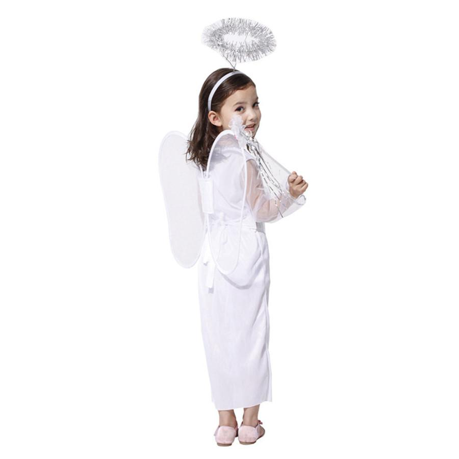 Kids Halloween Little Angel Costume - Nice & Cool