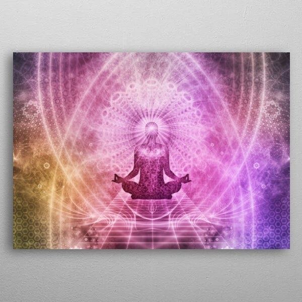 Meditation Abstract Spiritualism Yoga Concept