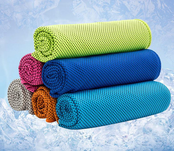 Ice Cooling Sports Towel - SUPER COOL OFFER - Nice & Cool