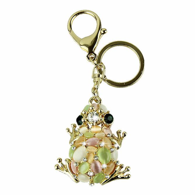 Frog of Crystals Keychain - Nice & Cool