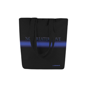 No Greater Love Canvas Tote Bags (2 variants) - Nice & Cool
