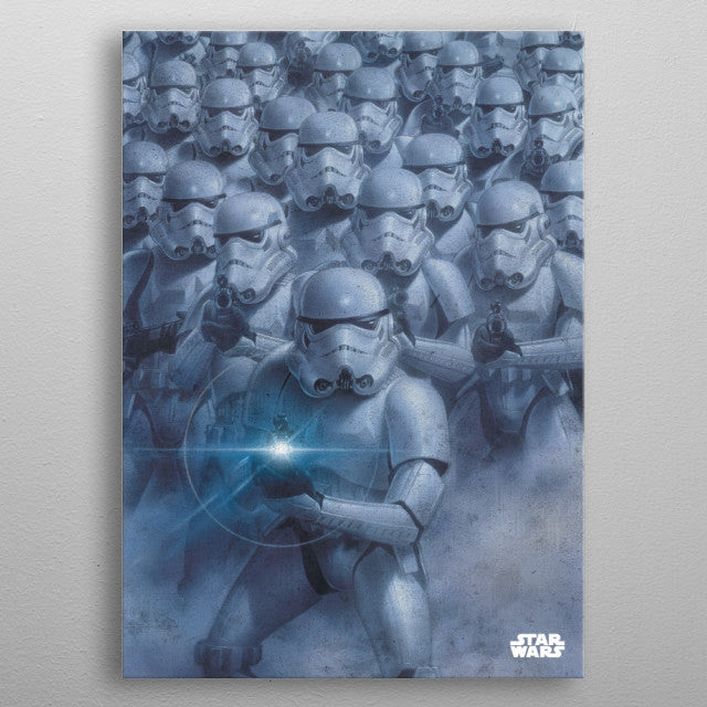 Trooper Army Print On Metal