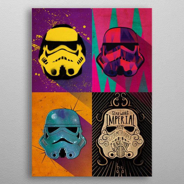 Urban Squad Print On Metal - Nice & Cool