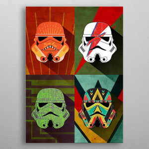 Thunder Squad Print On Metal - Nice & Cool