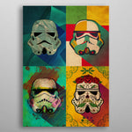 Muerte Squad Print On Metal - Nice & Cool