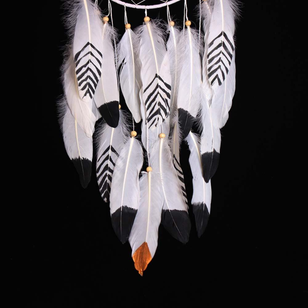 Black & White Feathers Dreamcatcher - Nice & Cool