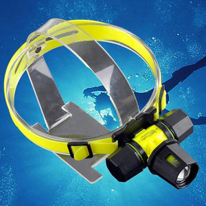 Diving Headlamp 2500LM - Nice & Cool