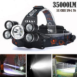 Professional Headlamp 35000LM - Nice & Cool