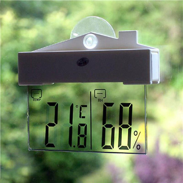Digital Window Weather Station - Nice & Cool