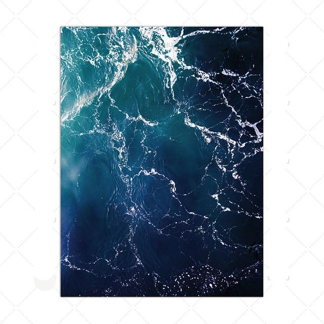 Sea Overview Wall Art Canvas - Nice & Cool