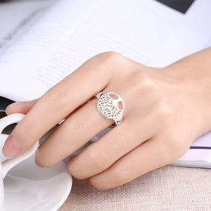 Tree of Life Ring Silver Plated Ring - Nice & Cool