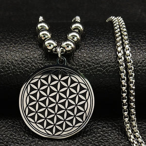 Flower of Life Stainless Steel Necklace - Nice & Cool