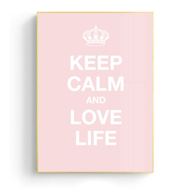 Love Life On A Pink Beach Wall Art Canvas - Nice & Cool