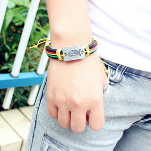 Christian Leather Bracelets (15 models) - Nice & Cool