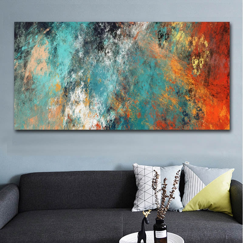 Mineralia Abstract Wall Art Canvas - Nice & Cool