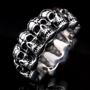 Steel Skulls Ring - Nice & Cool