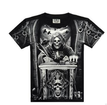 Death 3D Printed Cotton Tees (5 variants) - Nice & Cool
