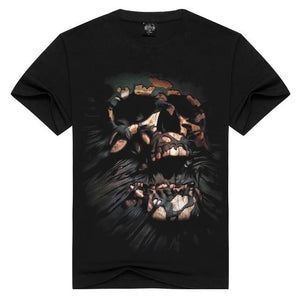 Escaping Skull 3D Print T-shirt - Nice & Cool