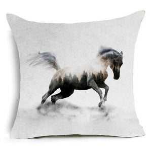 Majestic Horses Decorative Cushion Cover - Nice & Cool