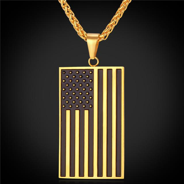 American Flag Necklace - Nice & Cool