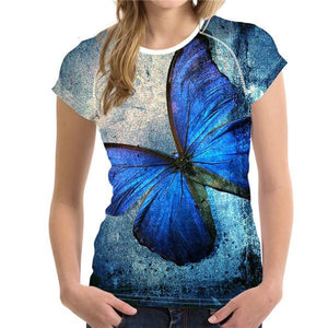 Butterflies' Beauty Women's T-Shirts (18 variants) - Nice & Cool