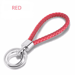Coloured Double Ring Keychain - Nice & Cool