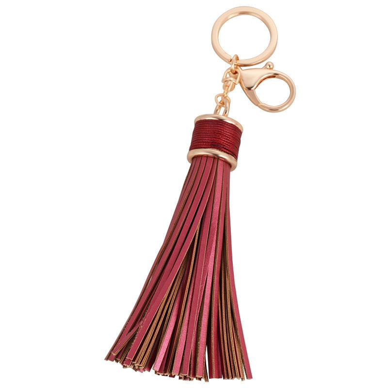 Leather Tassel Keychain - Nice & Cool