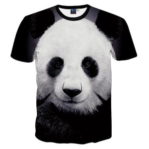 Lovely Panda 3D Print Women T-shirt - Nice & Cool