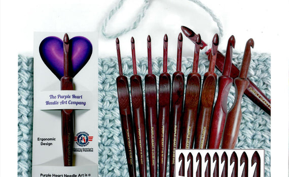 Purple Heart Needle Arts - New Yarn Bowls! - Helping support our veterans