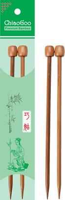 "ChiaoGoo - Dark Bamboo - 9"" Single Point"
