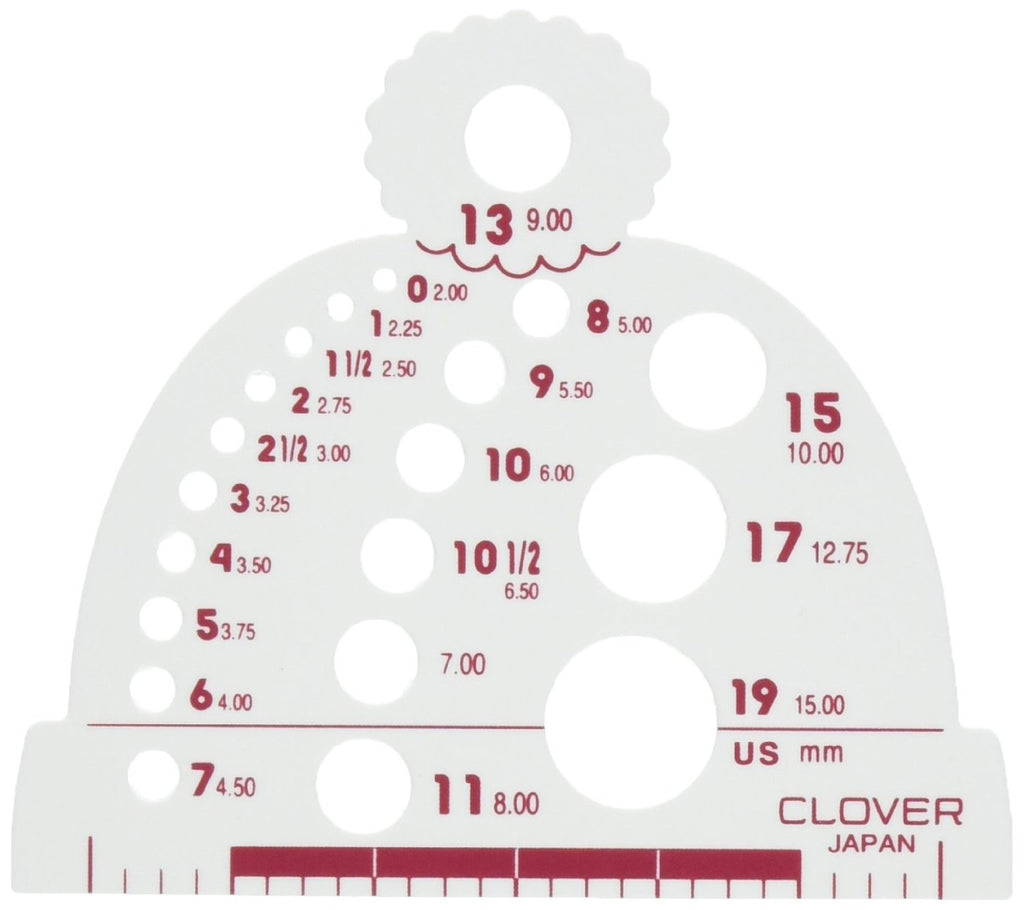 Clover - Knitting Needle Gauge