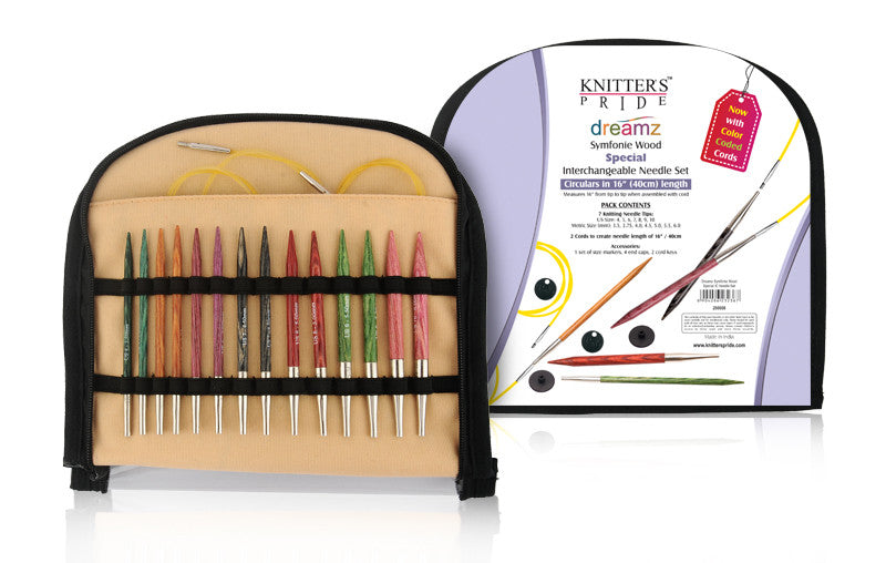 "Knitter's Pride - Dreamz - 3.5"" Interchangeable Needle Set 16"" ""Special"" (200608)"