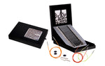 "Knitter's Pride - Karbonz - 4.5"" Interchangeable Needle Gift Set in Faux Leather Box of Joy"
