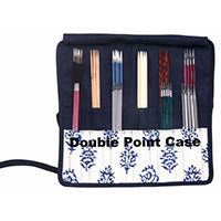 Knitter's Pride - Navy - Fabric Needle Cases
