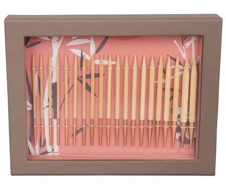 "Knitter's Pride - Bamboo - 4.5"" Interchangeable Needle Gift Set"