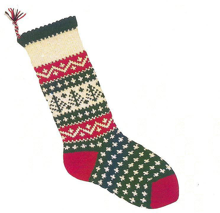 Christmas Stocking Evergreen