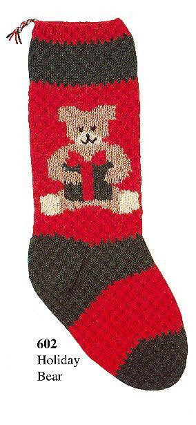 Christmas Stocking Holiday Bear